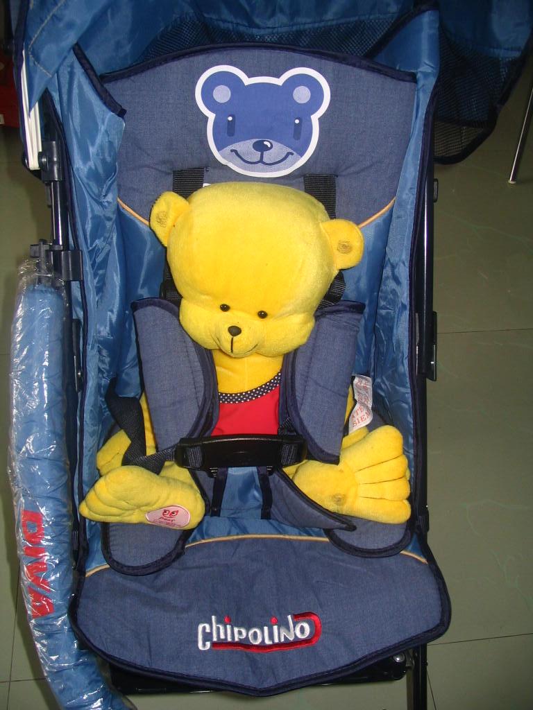 像飞机上一样款式的安全带,小宝宝使用时更加安全