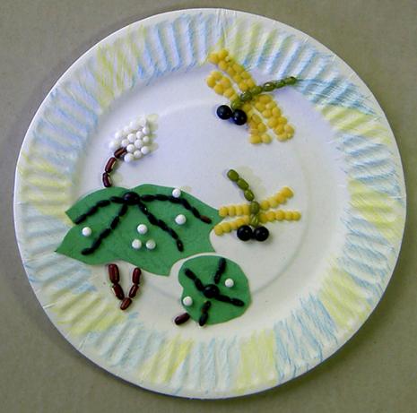 > diy趣味豆贴画——培养孩子的智力,耐性,注意力,想象力,创意无限!