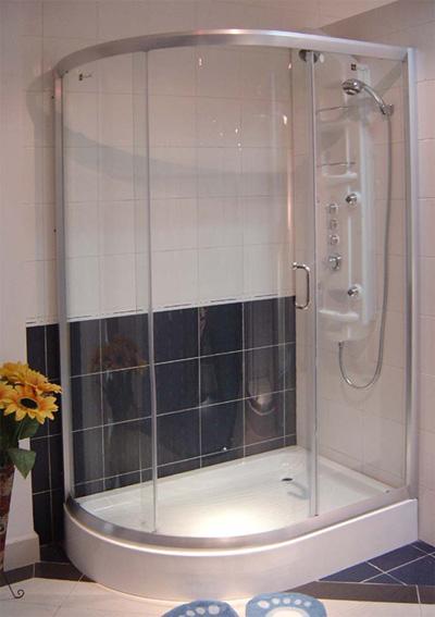 半椭圆形淋浴房(分左右开门)
