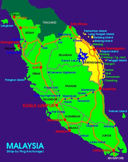 > 马来西亚游---热浪岛,云顶,吉隆坡,putra jaya(太子城),热浪岛和