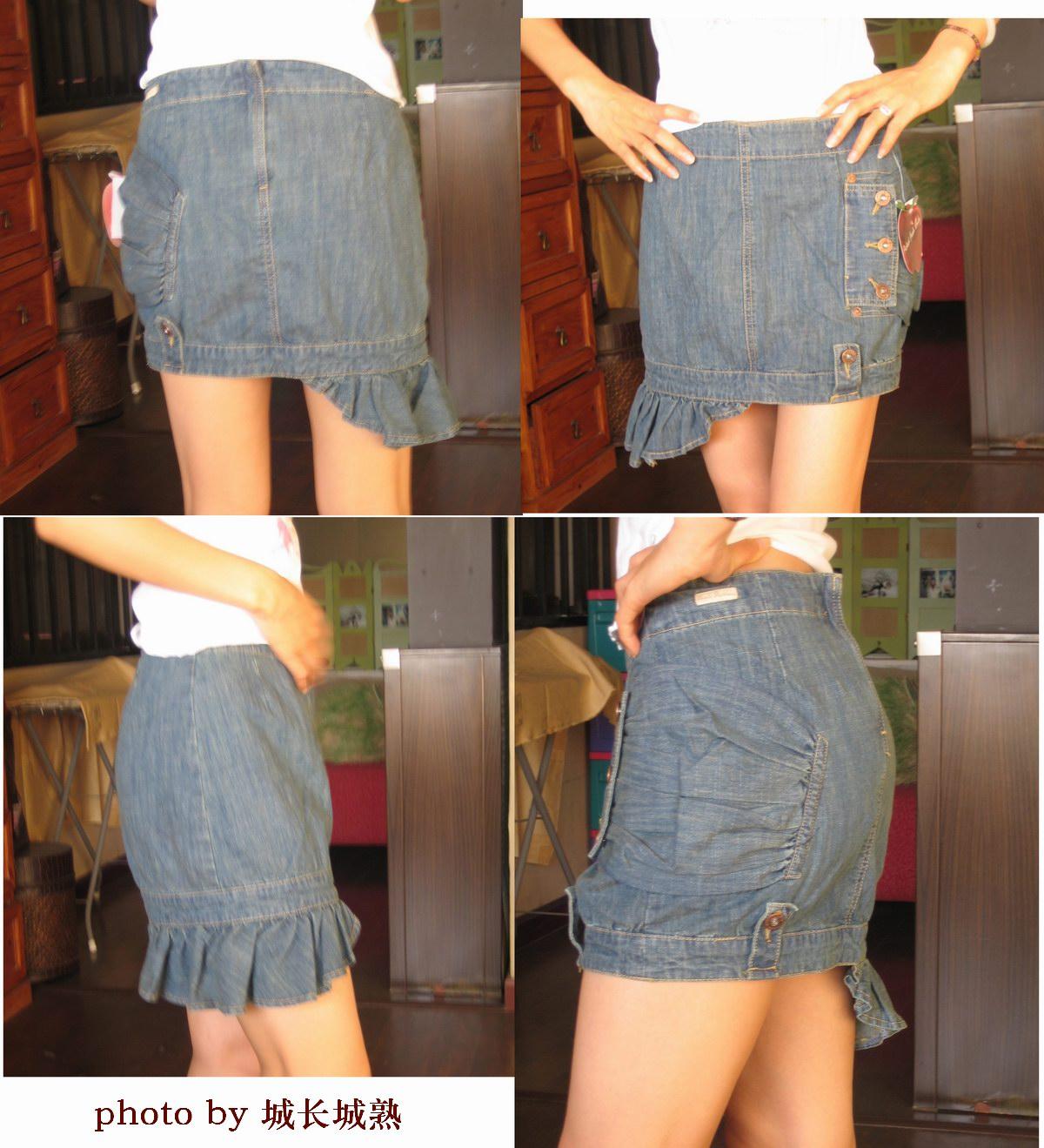 裙子,牛仔裤,包包)