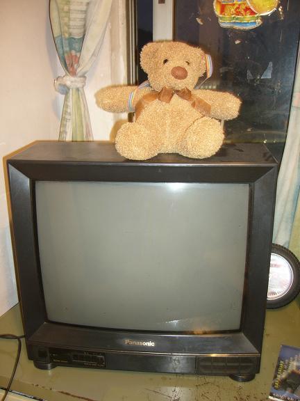 > 出售21寸家用松下彩色电视机.