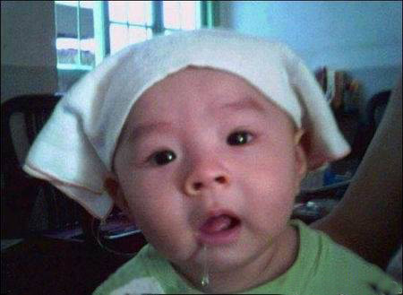 > 可爱宝宝搞笑表情