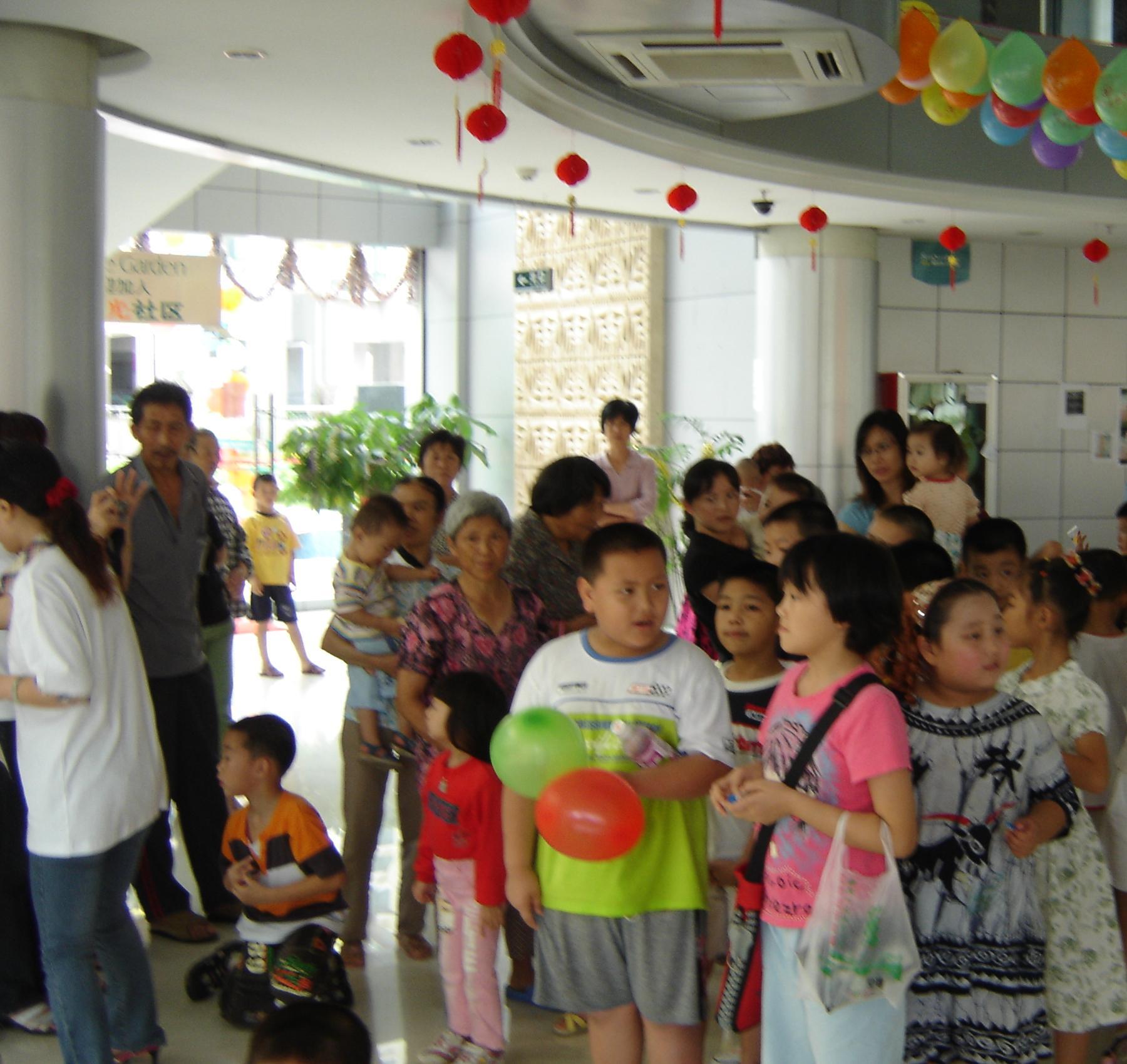 """""""六一""""儿童节社区文化的活动照片(内空)"""
