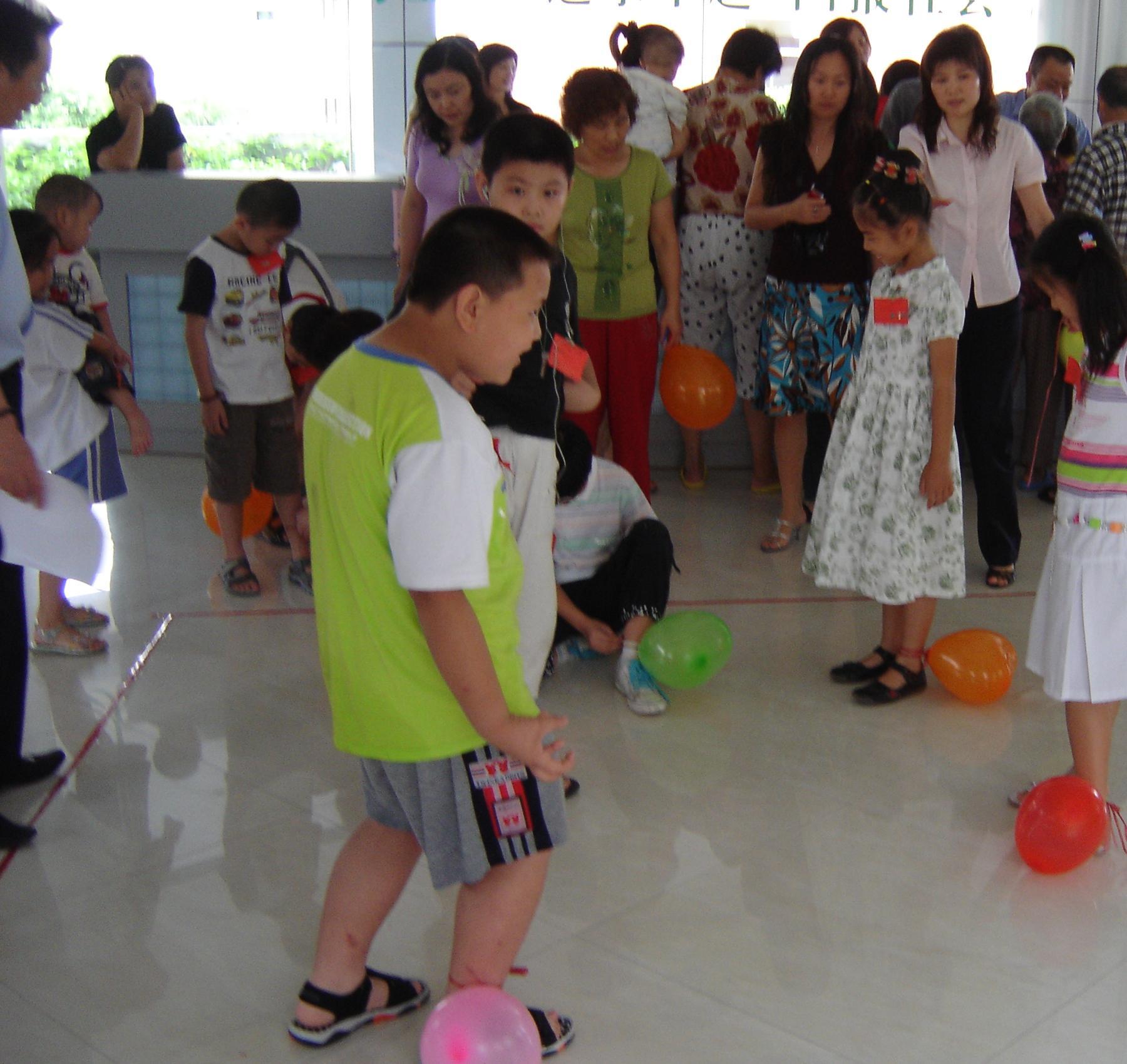 """""""六一""""儿童节社区文化的活动照片(内空)图片"""