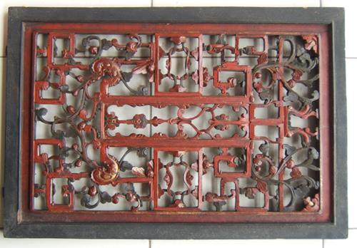湘西民居木雕窗花