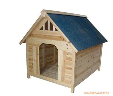 求购木制狗屋,给哈士其用的