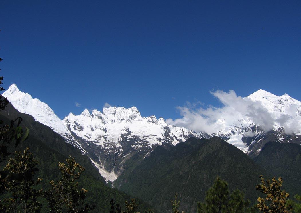 西藏和云南风景