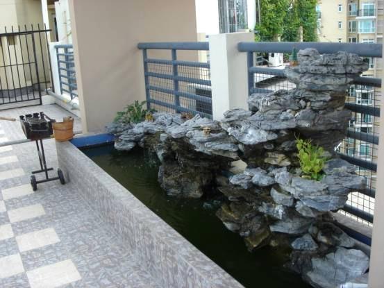 家庭鱼池装修效果图