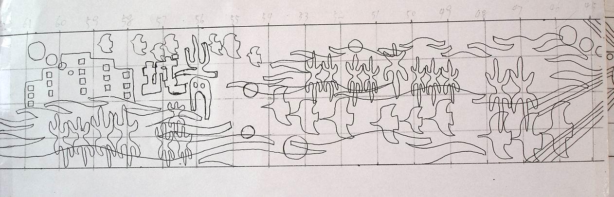 *社区环境与雕塑艺术*创作实例之青城美林(壁画篇)