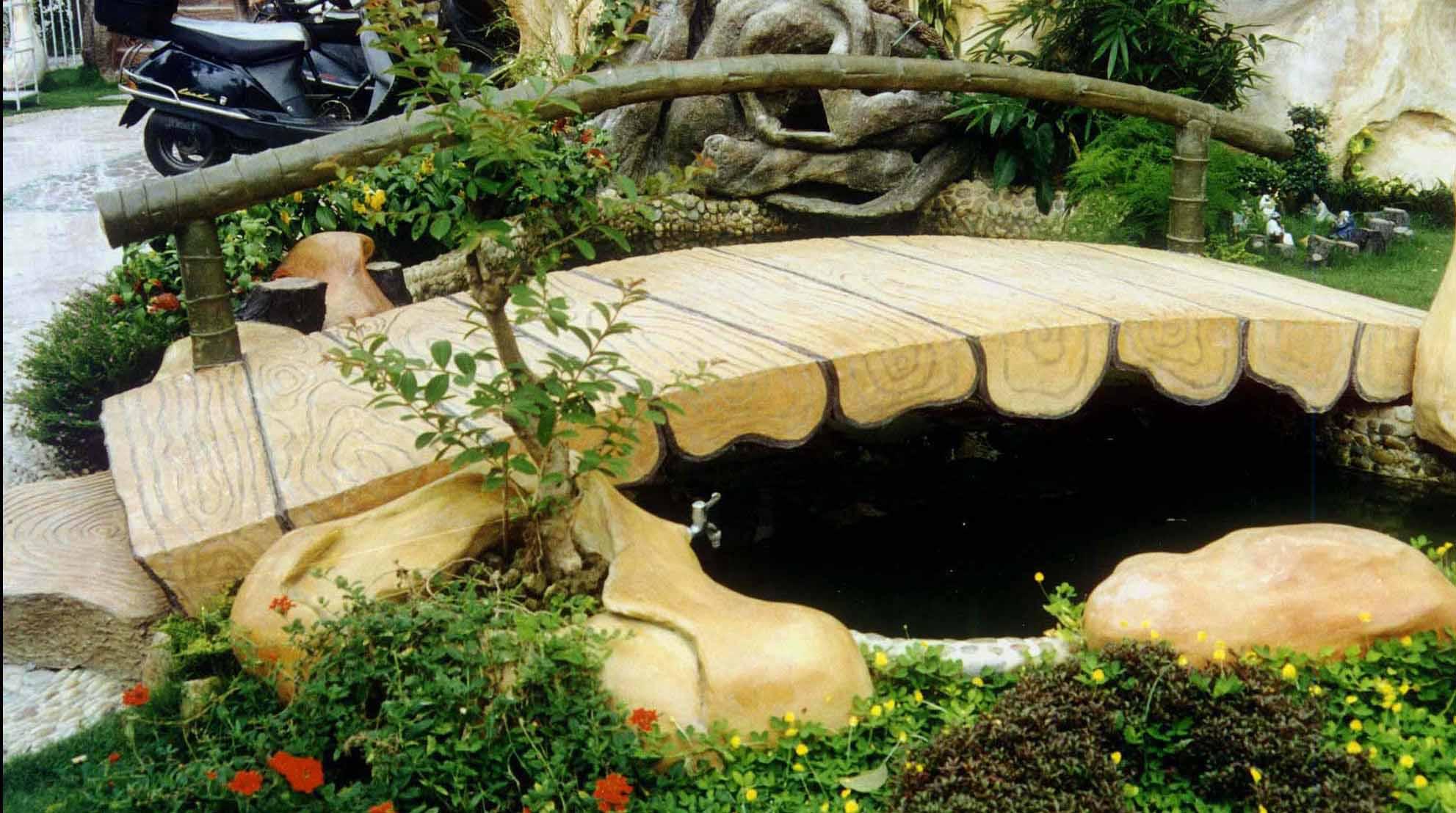 嘉典园艺景观,专业设计及施工私家天台.阳台.庭院的园林工程
