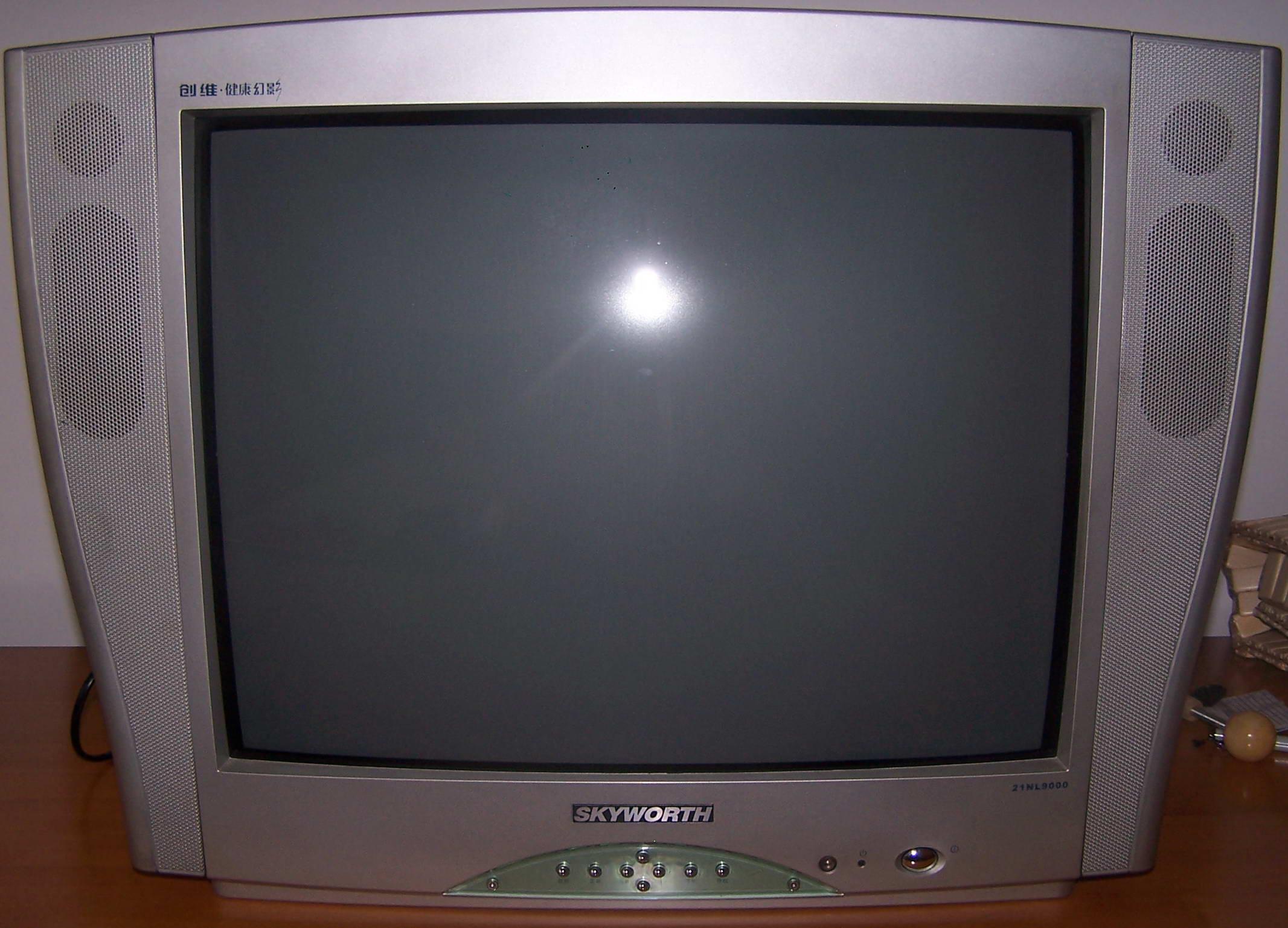 创维21寸时尚电视机(银色)转让