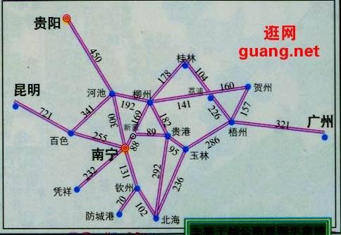 北海市湛江地图