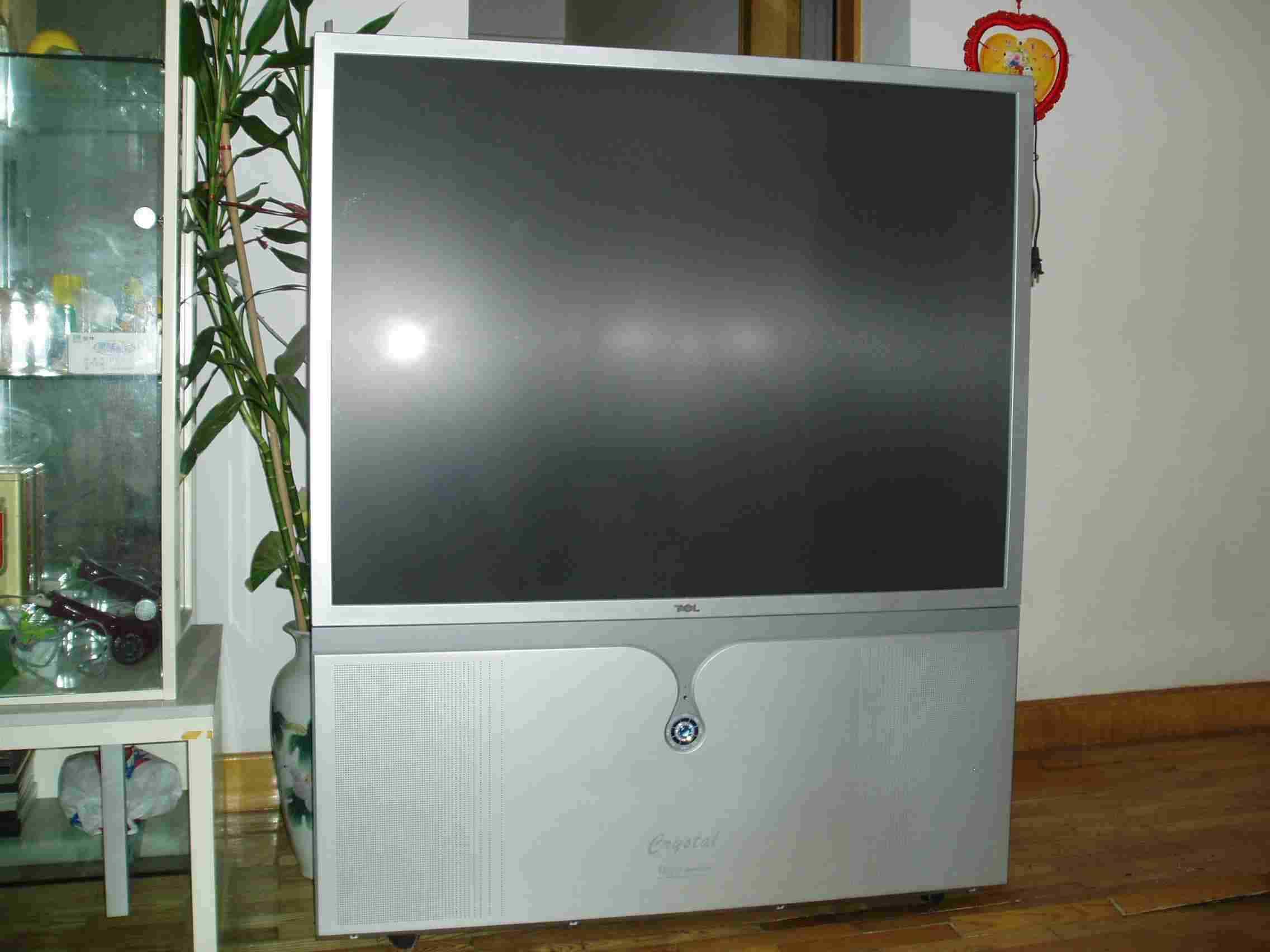 全新tcl 54寸背投电视机低价卖!