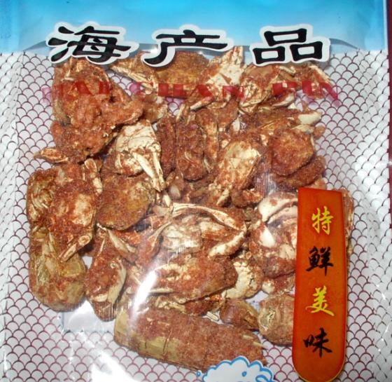 团购秦皇岛海鲜啦—有鳝鱼干,鲜贝边,香辣小烤蟹,小银鱼,即食香酥鱼排