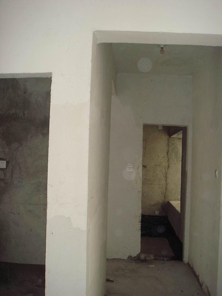 原来的门将会被封掉,改从开放式书房进洗手间.图片
