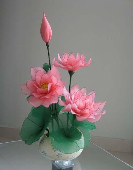 漂亮的花花----莲花,纯手工制作  交易价:人民币120.00元
