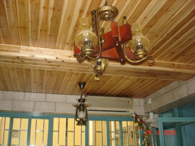 杉木板的吊顶