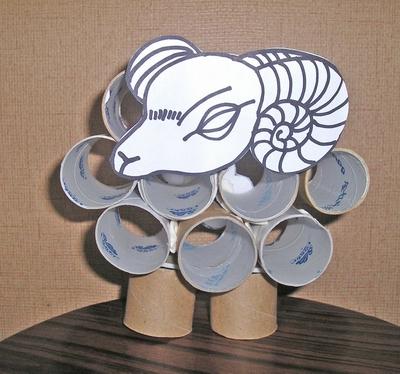 纸筒手工制作海洋生物大全图片