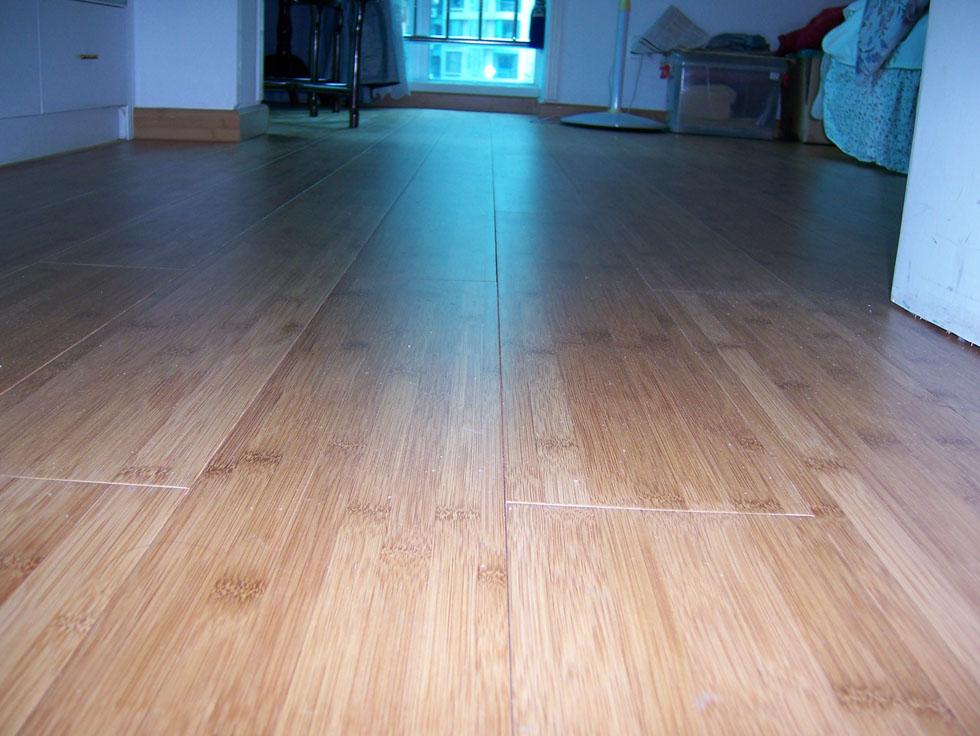 楠竹王锁扣竹地板,免钉免夹板安装  (碳化散节耐磨竹地板)