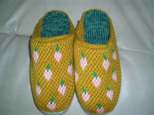 毛线拖鞋出售