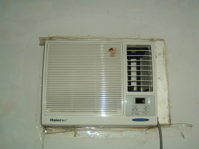海尔窗式空调接线图