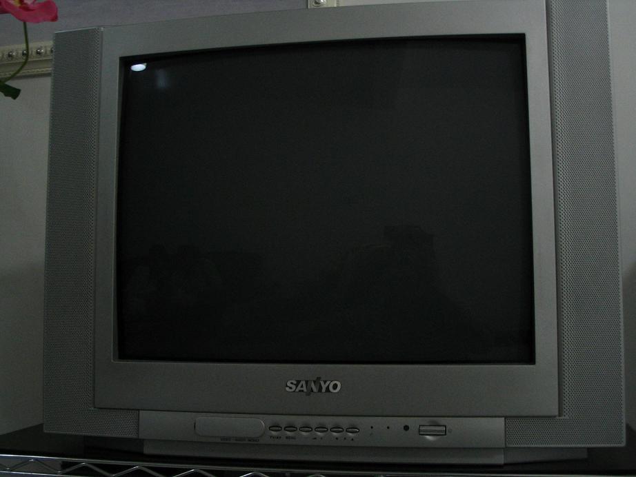 21寸三洋彩色电视机现转让!