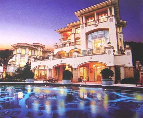 现代古典   观澜湖·会馆别墅(C型)总面积:700平方