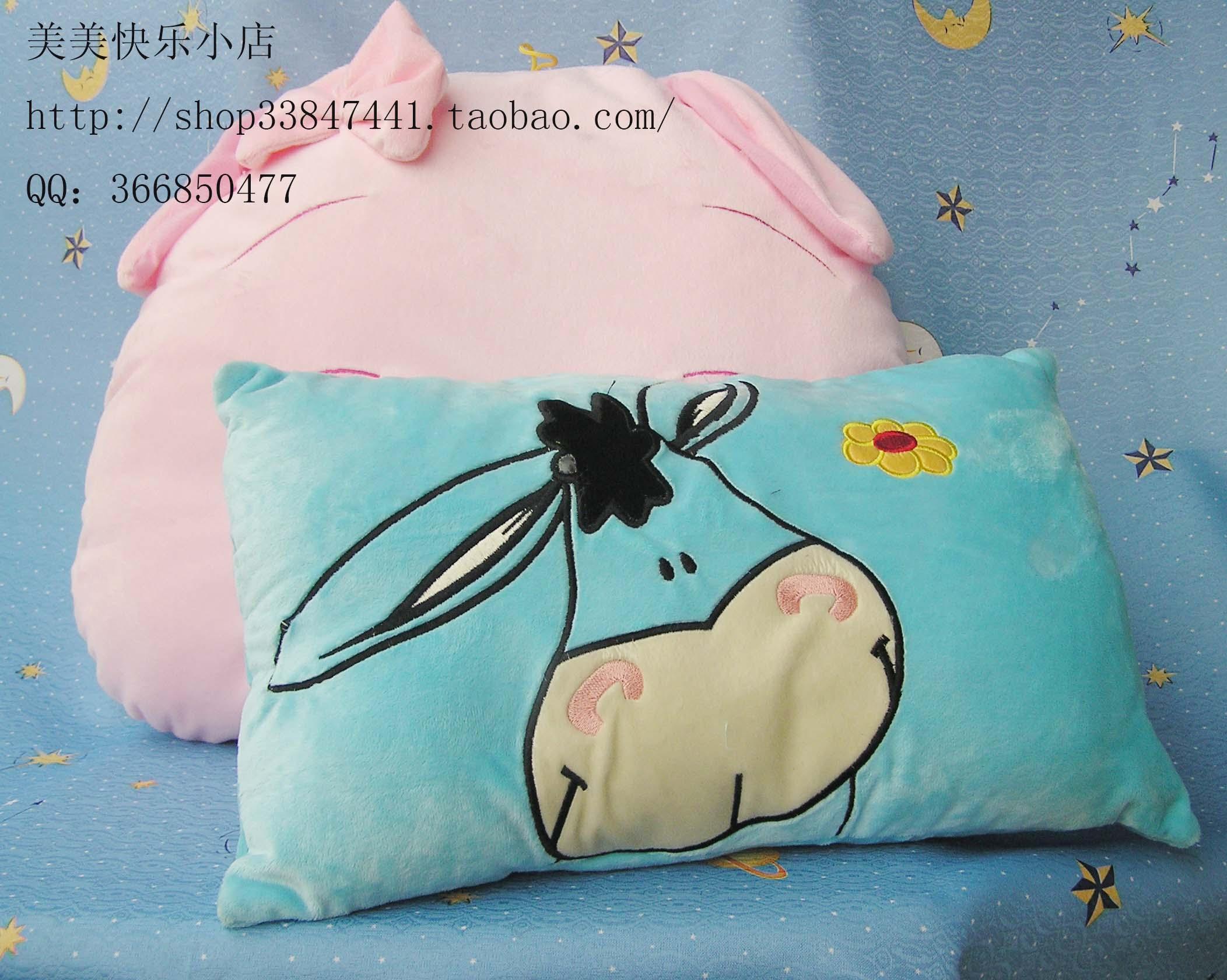> 超级可爱的猪猪靠垫!猪年大运噢!