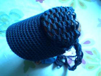 拍照蜗牛服编织图解