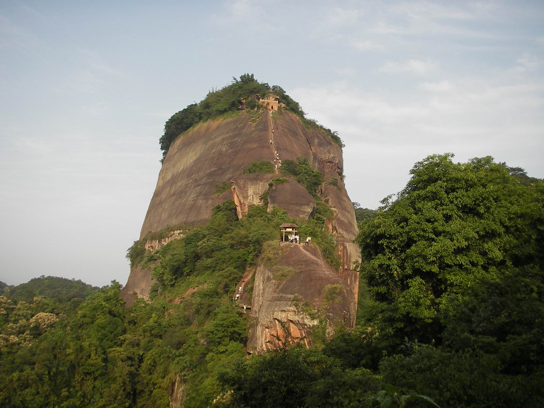 丹霞山阳元石