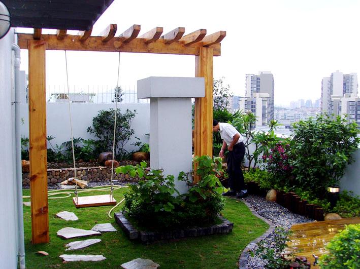楼顶花园90平左右装修设计招标