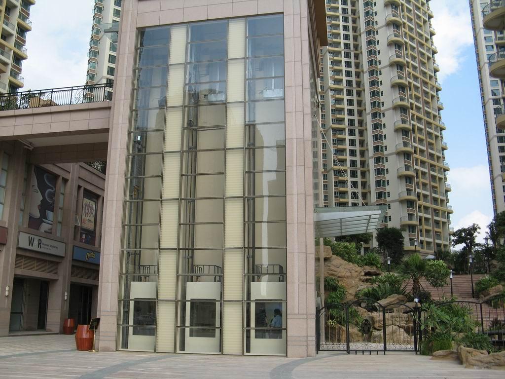 观光电梯钢结构做法
