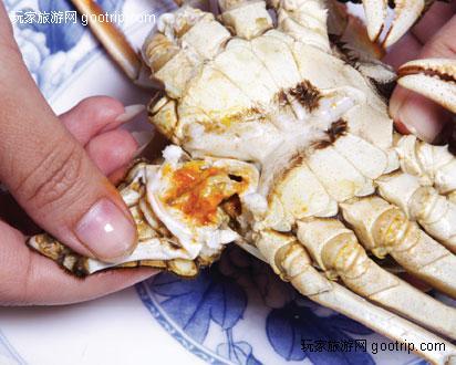 眠,教大家如何辨别螃蟹的公母 如何杀蟹及吃蟹攻略图片