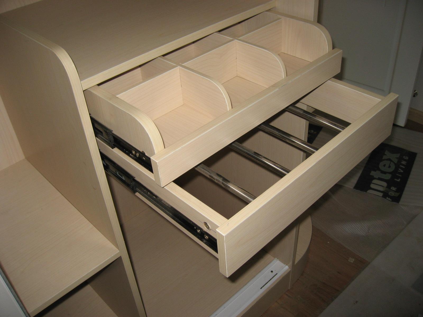 衣柜内部结构图.