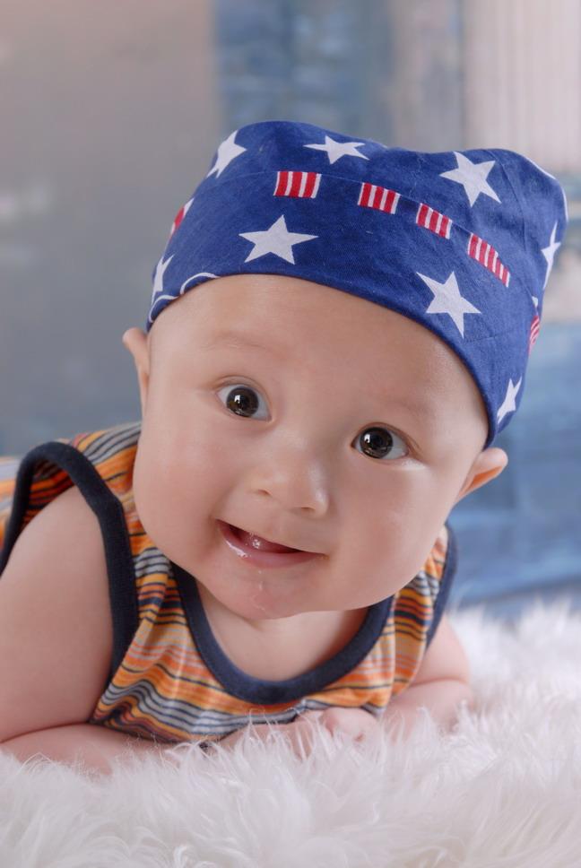 > 宝宝相片被选做模特了!