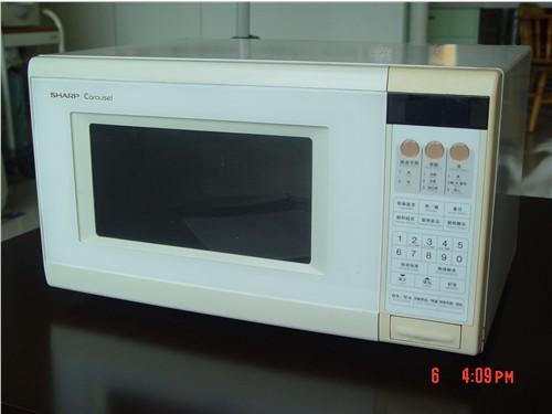 原装进口sharp微电脑控制微波炉300元