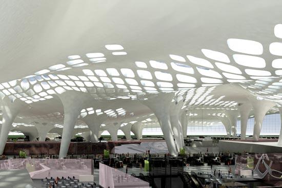 深圳新机场设计方案(内空)