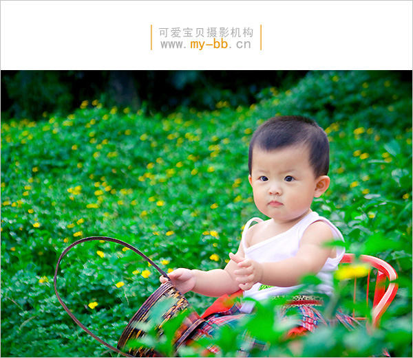 """海雅百货5楼""""可爱宝贝""""专业儿童摄影的宝宝艺术照"""